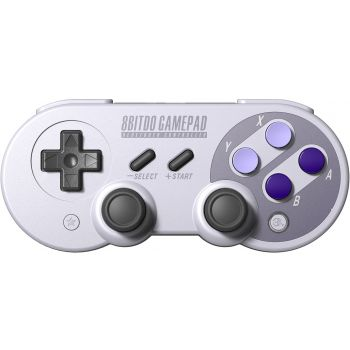 8Bitdo - Manette rétro gamepad SN30 Pro bluetooth - Compatible Nintendo Switch, Android, PC, Mac, Raspberry