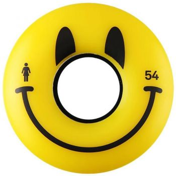 Girl - Roues Happy Smiley - 54mm - 85A - Pack de 4