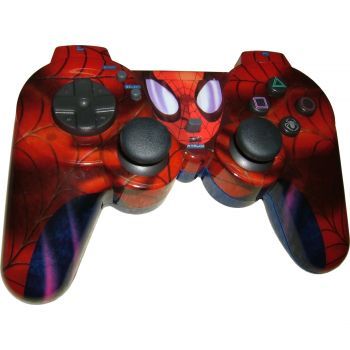 Manette Naki licence Marvel - Spider-Pad lumineux pour PS2