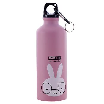 Bouteille isotherme 500 ml - Décoration animal lapin