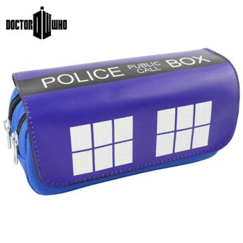Doctor Who - Trousse à stylos 2 compartiments Doctor Who